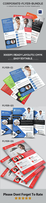 Corporate Flyer Bundle - Corporate Flyers
