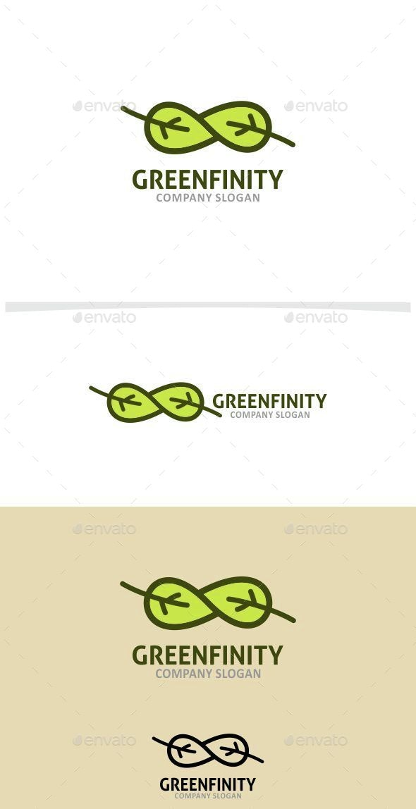 Greenfinity - Nature Logo Templates