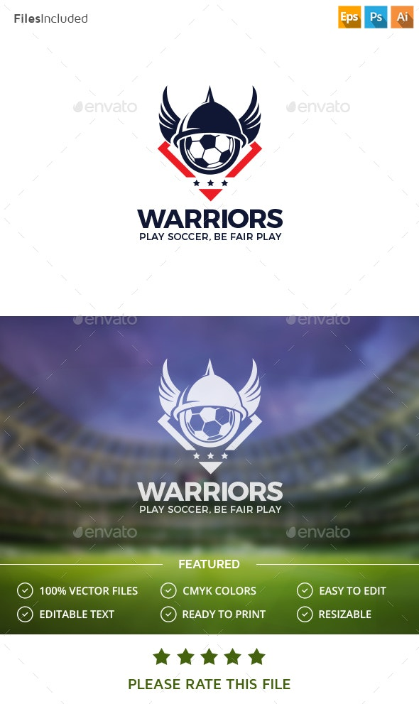 Soccer Logo - Vector Abstract