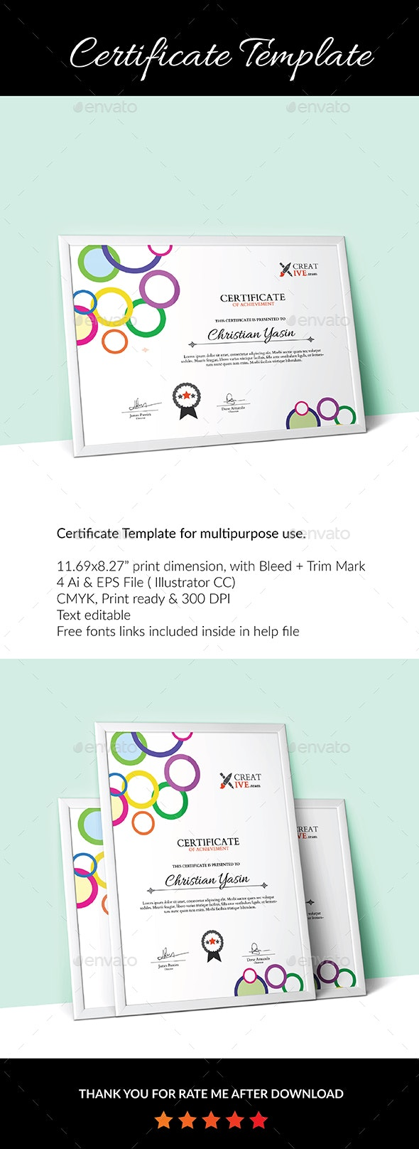 Certificate Template_04 - Certificates Stationery