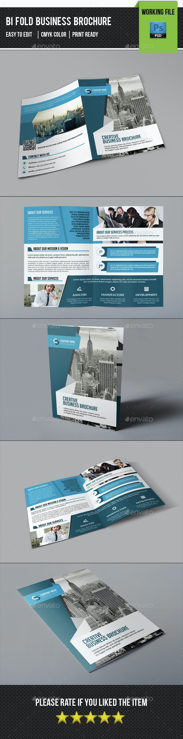 Corporate Bifold Brochure-V370 - Corporate Brochures