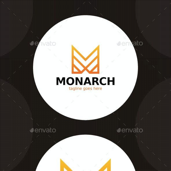 Monarch Logo - Letter M