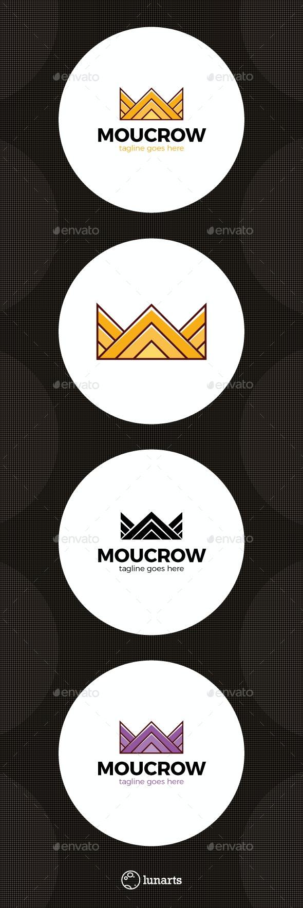 Mountain Crown Logo - Abstract Logo Templates