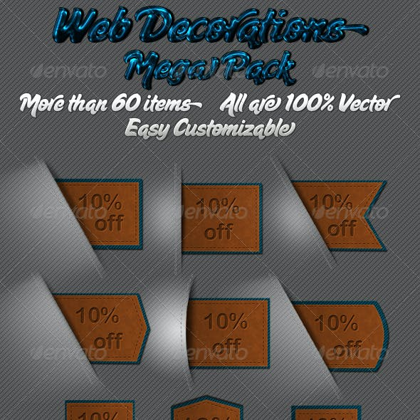 Web Decoration Mega pack