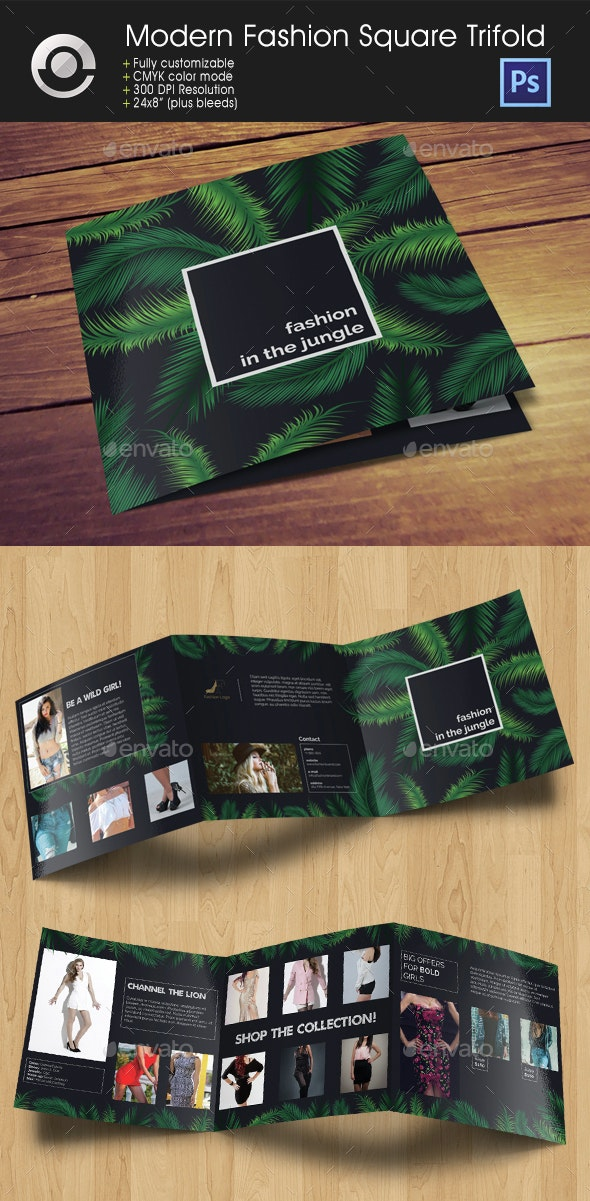 Modern Fashion Brochure - Catalogs Brochures
