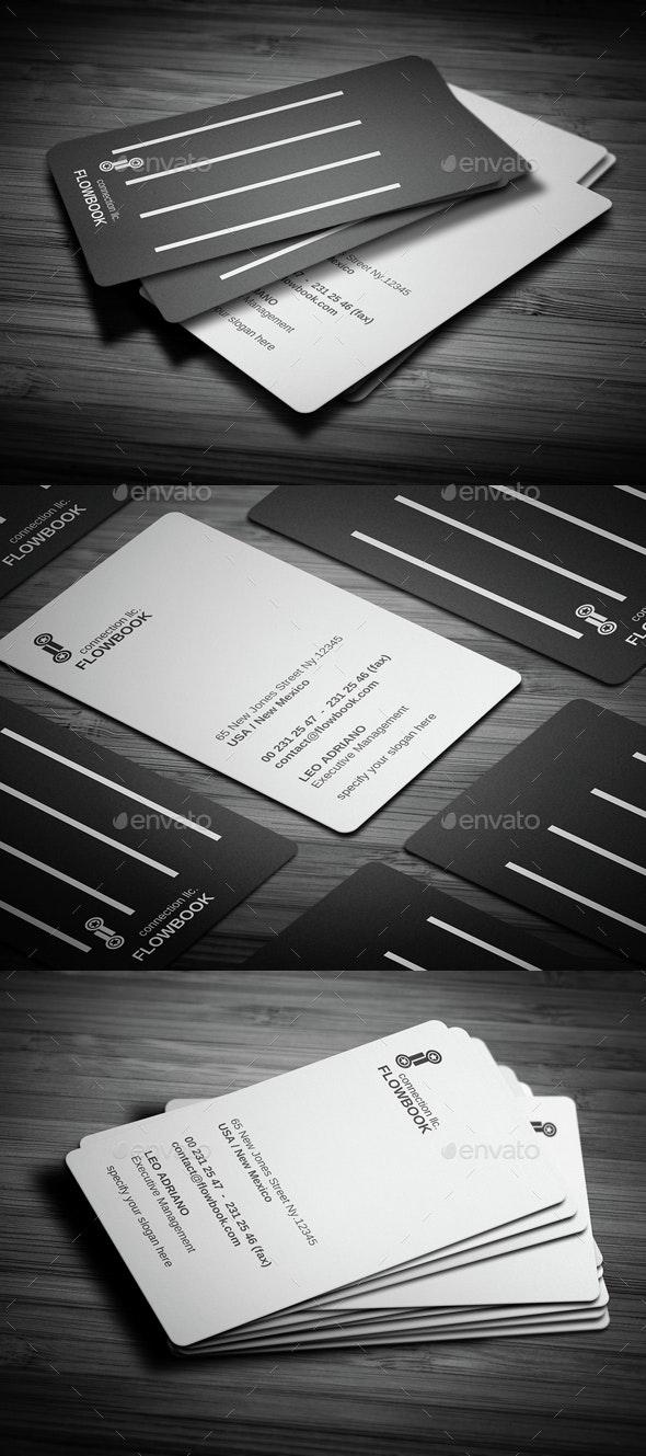 Flowbook Business Card - Creative Business Cards