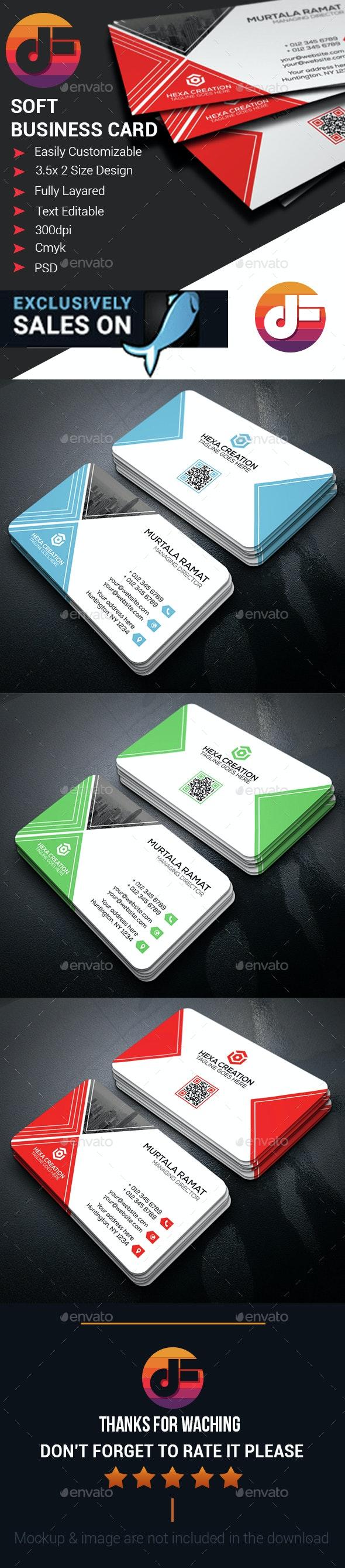 Business Card Design - Corporate Business Cards