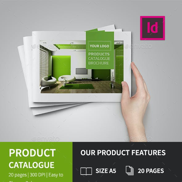 A5 Product Catalog Brochure