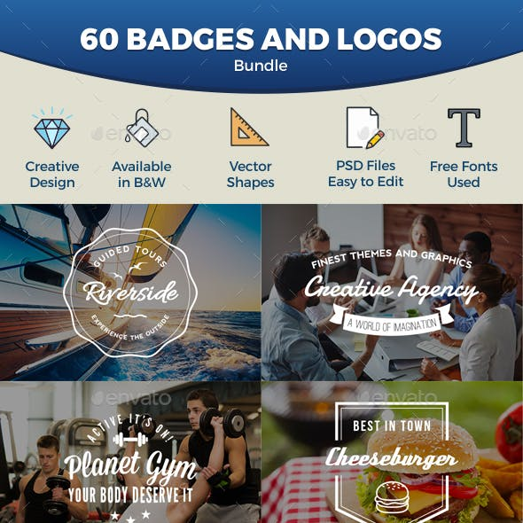 Badges and Logos Bundle