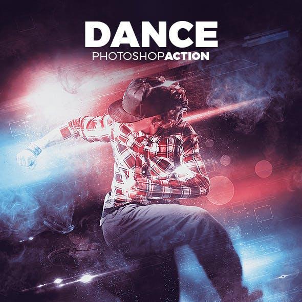 Dance Photoshop Action