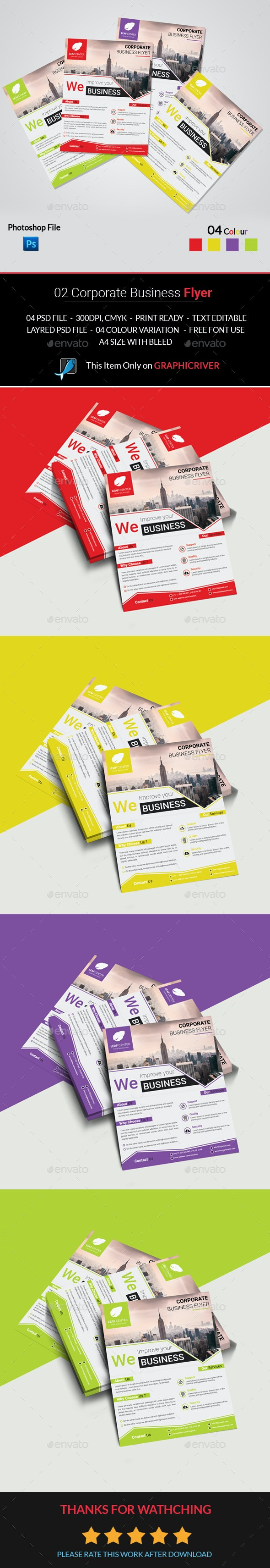02 Corporate Business Flyer - Corporate Flyers