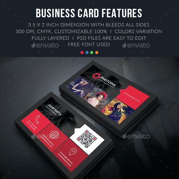 Color Photography Business Card