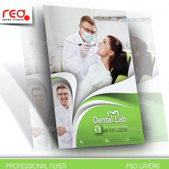 Dental Lab Flyer & Poster Template