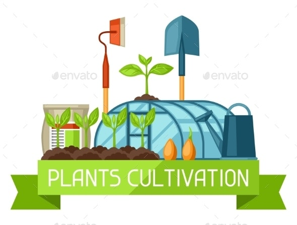 Concept With Agriculture Objects. - Industries Business