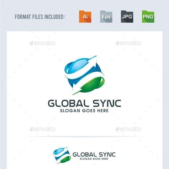 Global Sync Logo Template