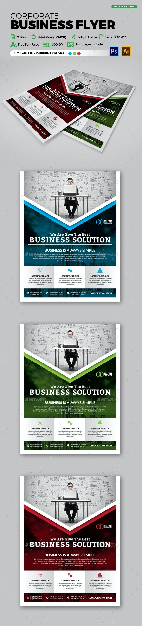 Flyer – Multipurpose 133 - Corporate Flyers