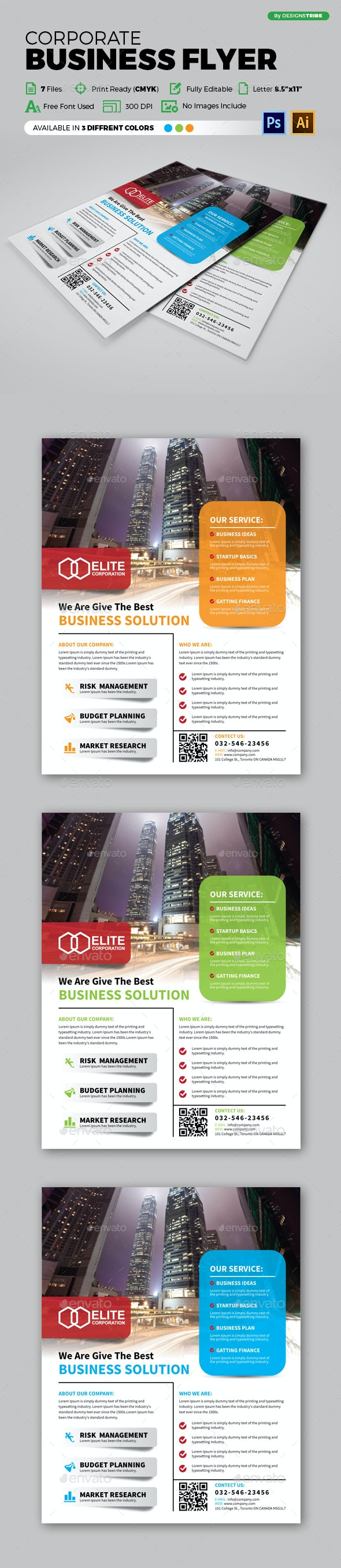 Flyer – Multipurpose 134 - Corporate Flyers