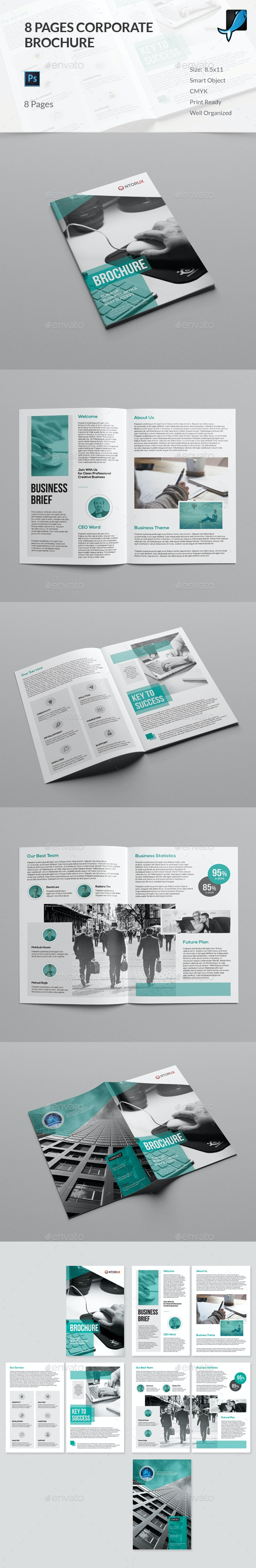 8 Page Brochure - Corporate Brochures