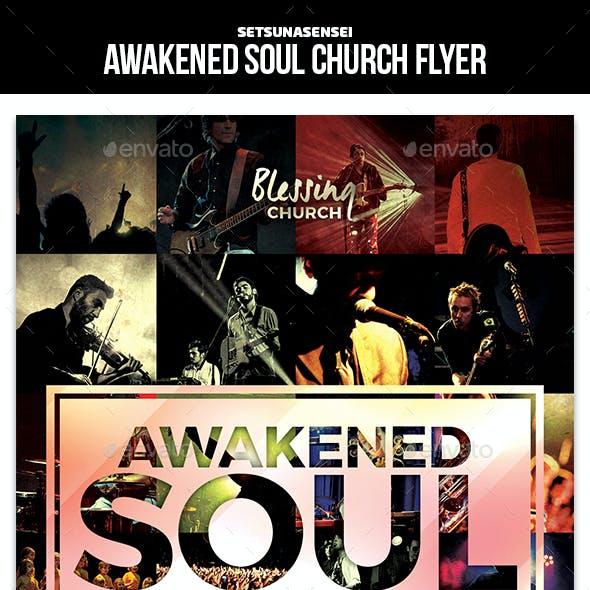 Awakened Soul Church Flyer