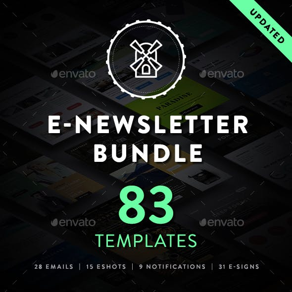ThemeMill E-newsletter Bundle Vol. 1