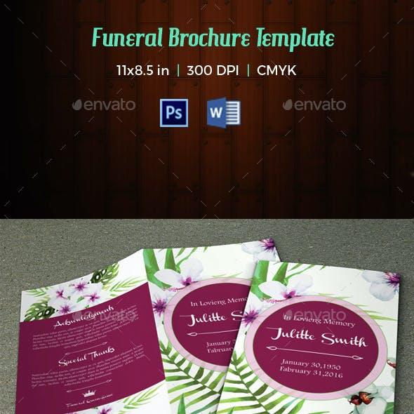 Funeral Program Template-V31
