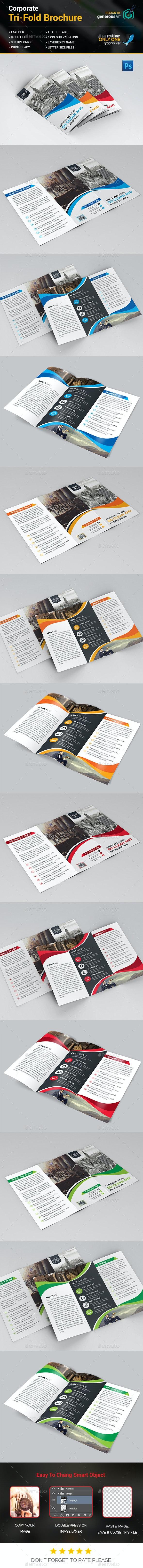 Pro Tri-Fold Brochure - Corporate Brochures