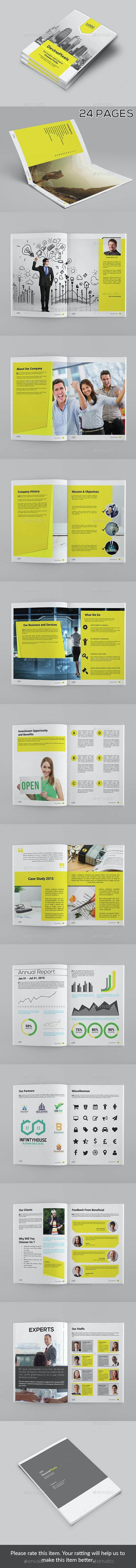 Modern Company Profile Brochure - Corporate Brochures
