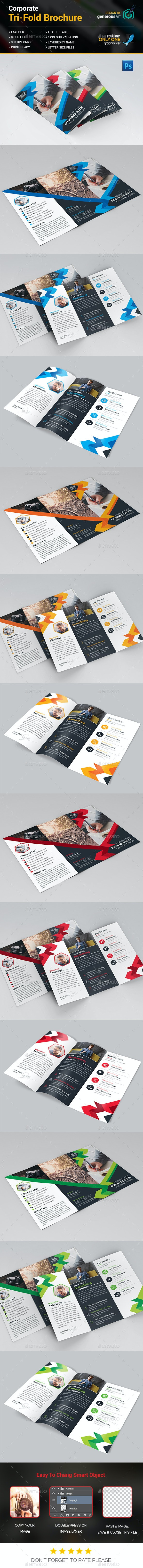 Max Tri-Fold Brochure - Corporate Brochures