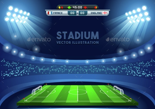 Football 02 Sport Background - Sports/Activity Conceptual