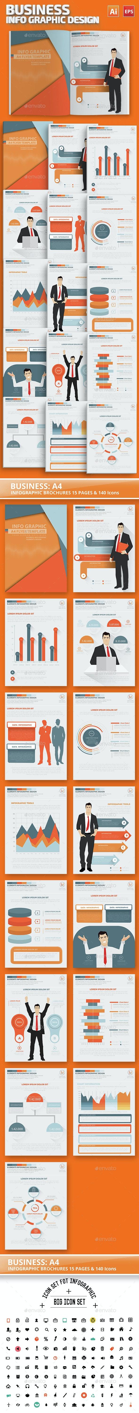 Business Infographics Elements Design - Infographics