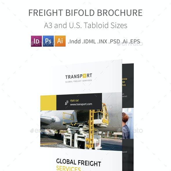 Freight Bifold / Halffold Brochure