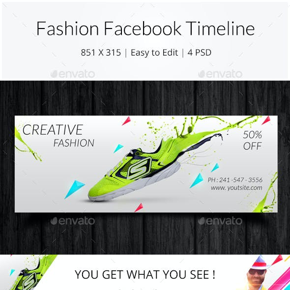 Fashion Sale Facebook Timeline