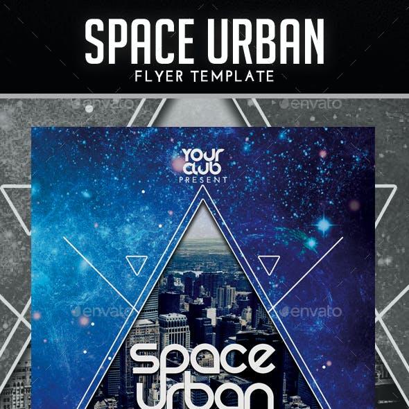 Space Urban/Minimal Flyer