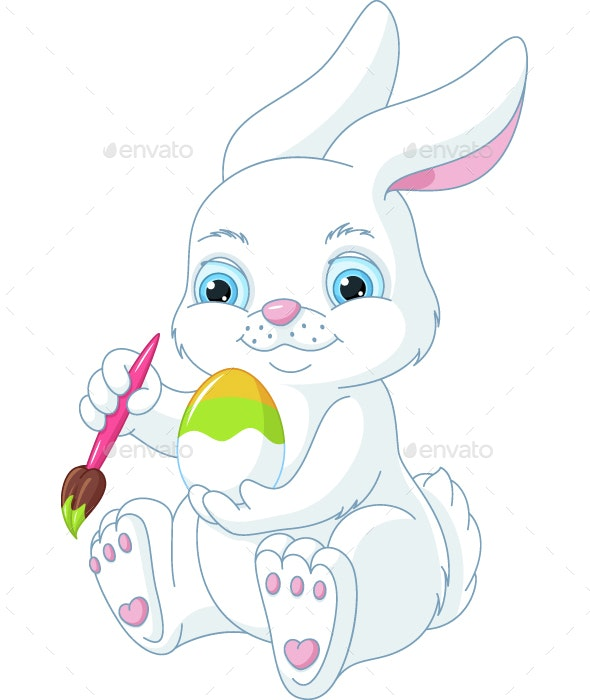 Easter Rabbit - Animals Characters
