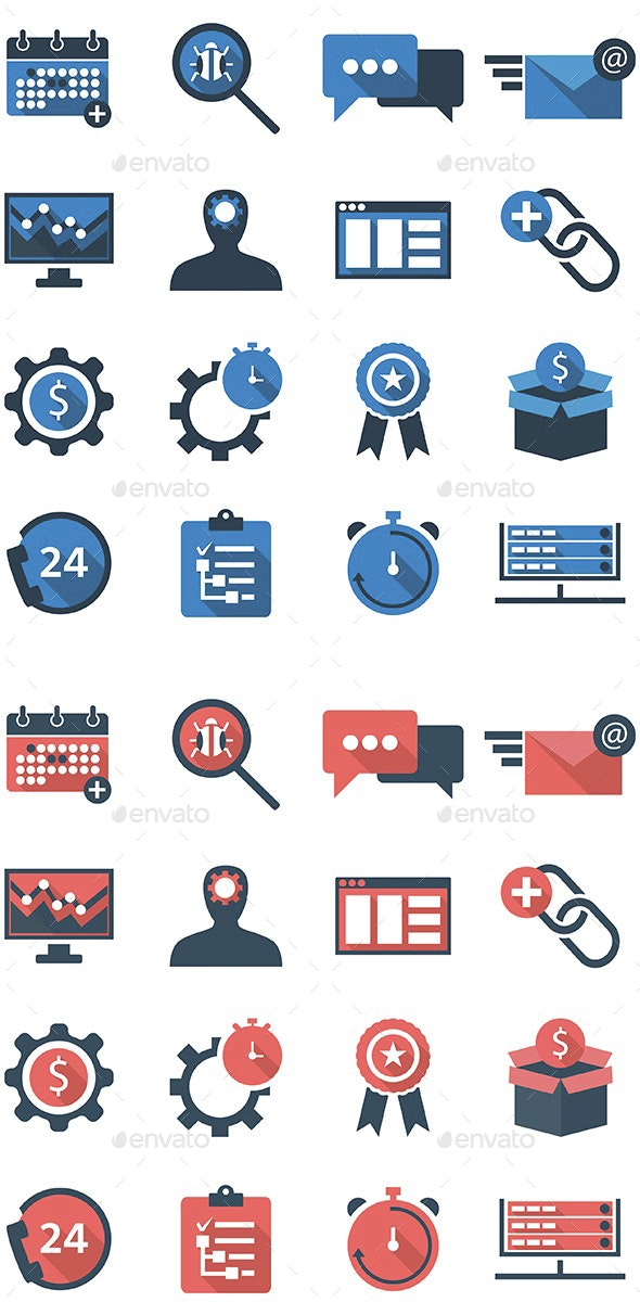 Fresh Business Icons V.2.0 - Business Icons