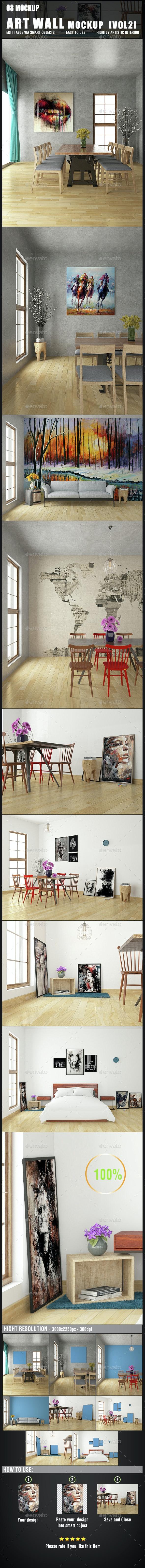 Art Wall Mockup [Vol2] - Miscellaneous Print