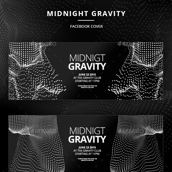 Midnight Gravity Facebook Cover