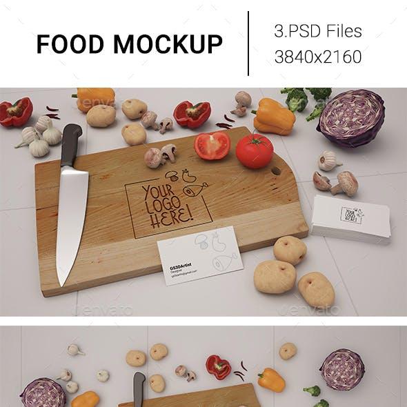 Food Mockup