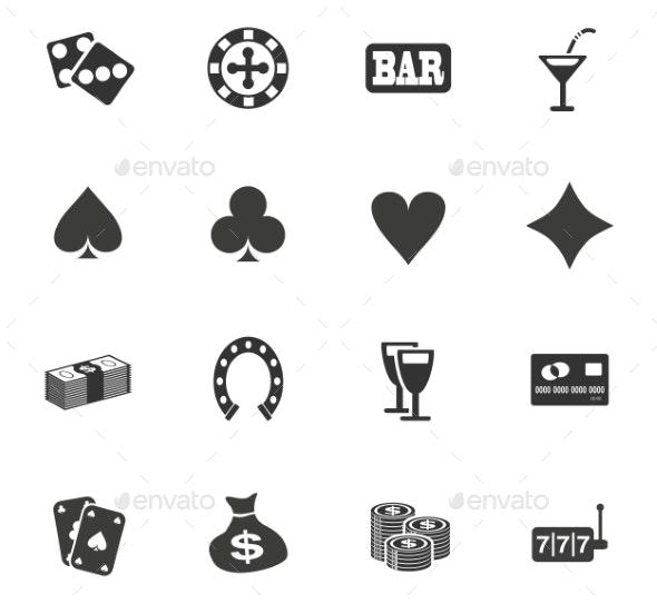 Casino Icon Set - Miscellaneous Icons
