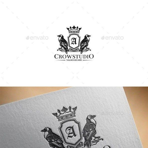 Crow Crest Logo