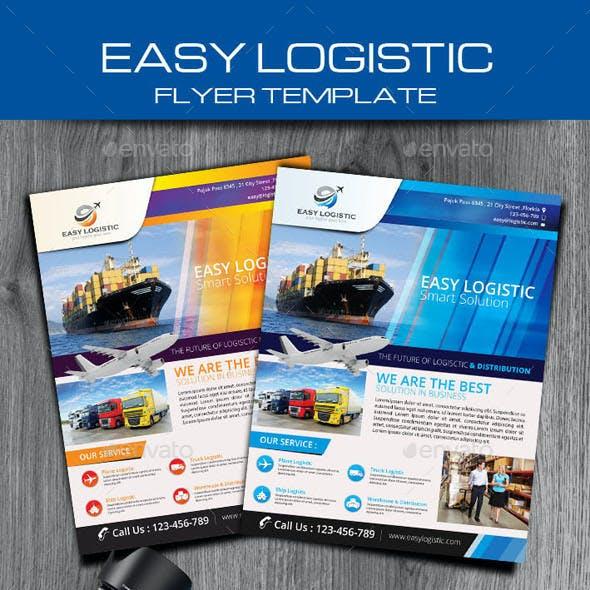 Easy Logistic Smart Solution Flyer