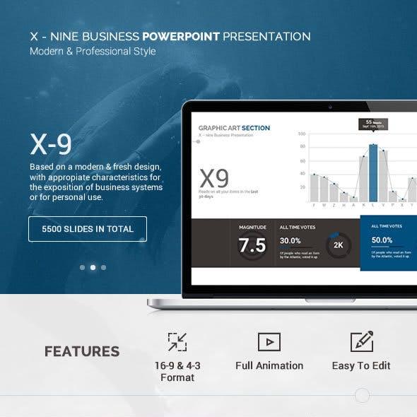 X-9 Version 3 - Premium