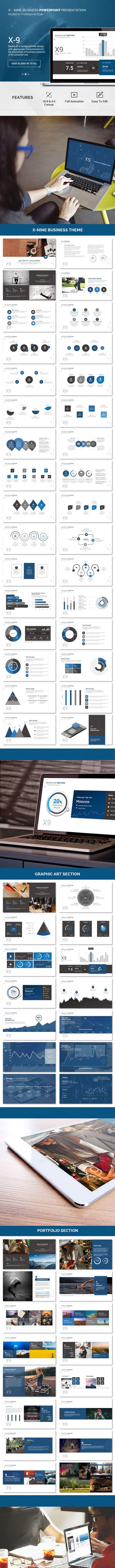 X-9 Version 3 - Premium - Business PowerPoint Templates