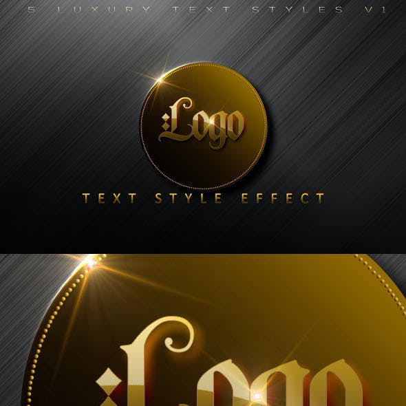 Luxury Text Styles V1Act