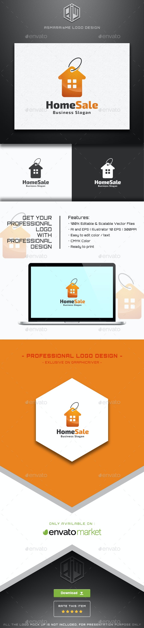Home Sales Logo - Buildings Logo Templates