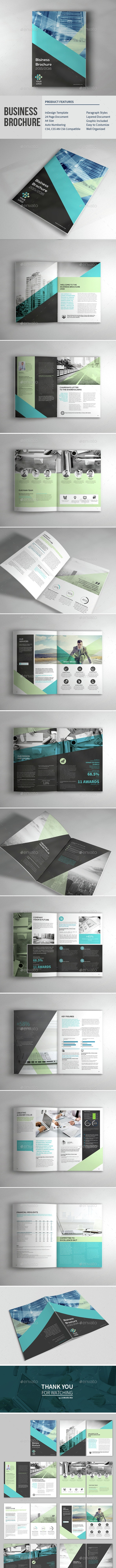 Business Corporate Brochure - Brochures Print Templates
