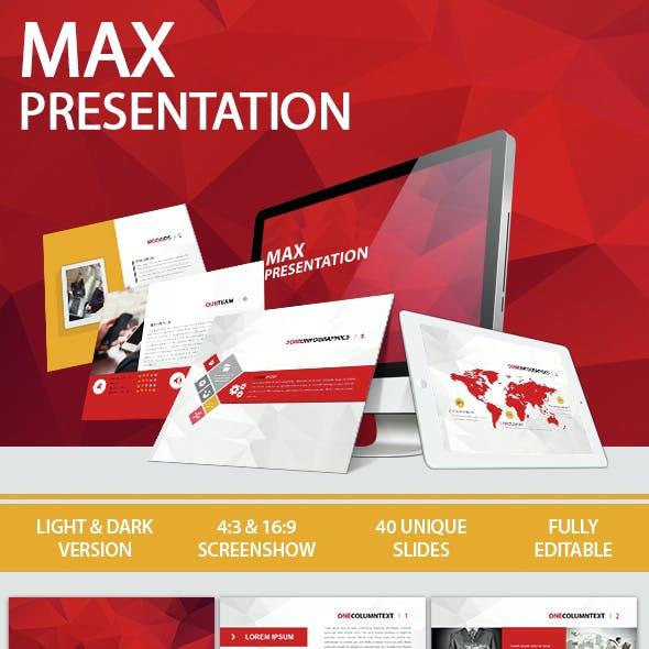 Max Presentation