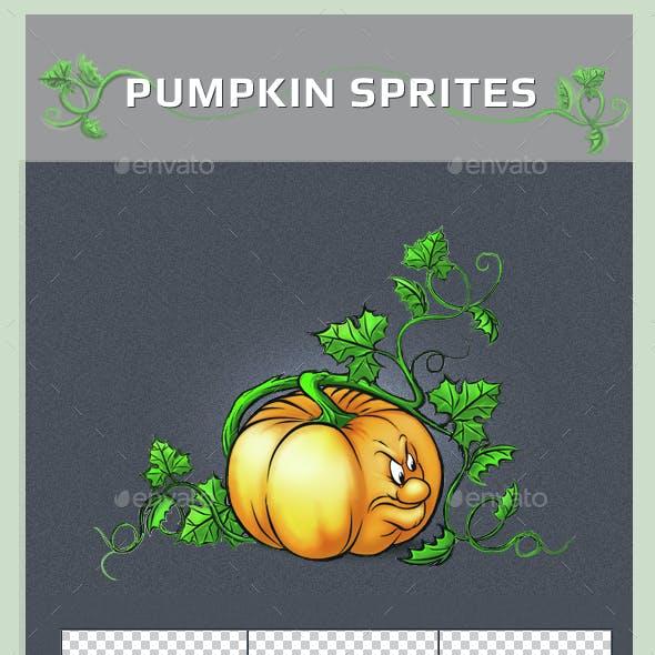 Pumpkin Sprites