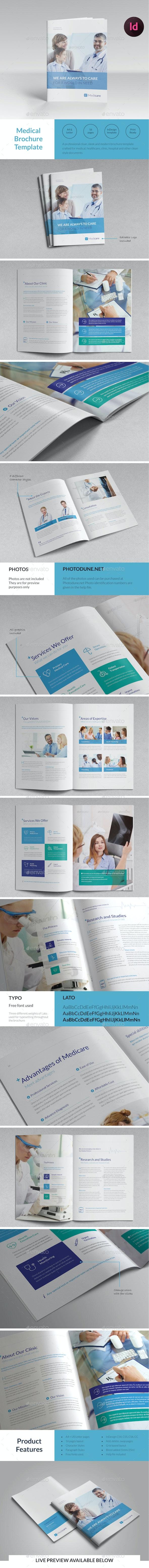 Medical Brochure Template - Informational Brochures