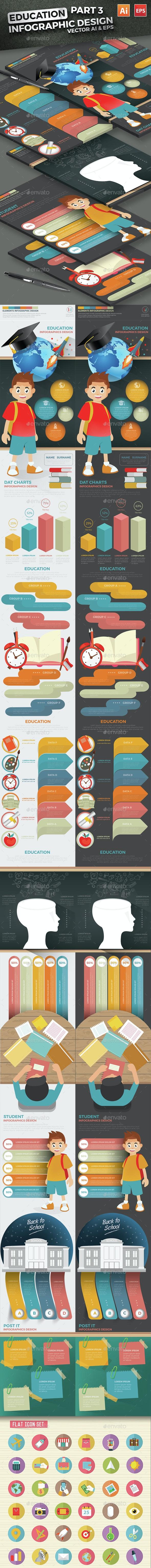 Education Infographics Design Part 3 - Infographics